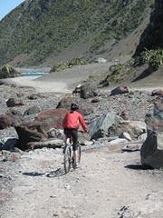 Ciara cycling at red rocks