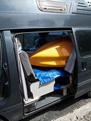 Our van - full again!