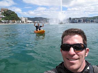 Wellington Kayaking in Oriental Bay