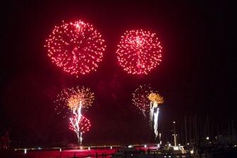 Wellington fireworks, November 5th, 2010