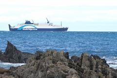 Bluebridge Ferry to South Island