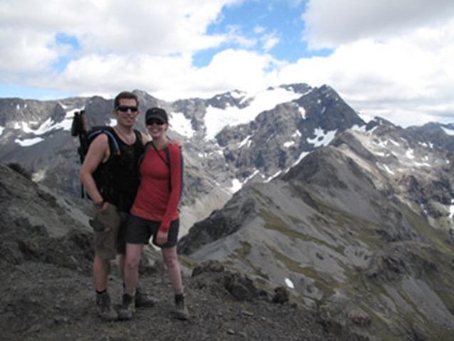 Top of Avalanche Peak walk