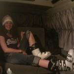 Ciaras new ski boots