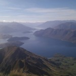 View from above Wanaka