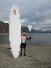 My Starboard paddle board