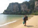 Tonsai beach, Krabi (or Hat Ton Sai)